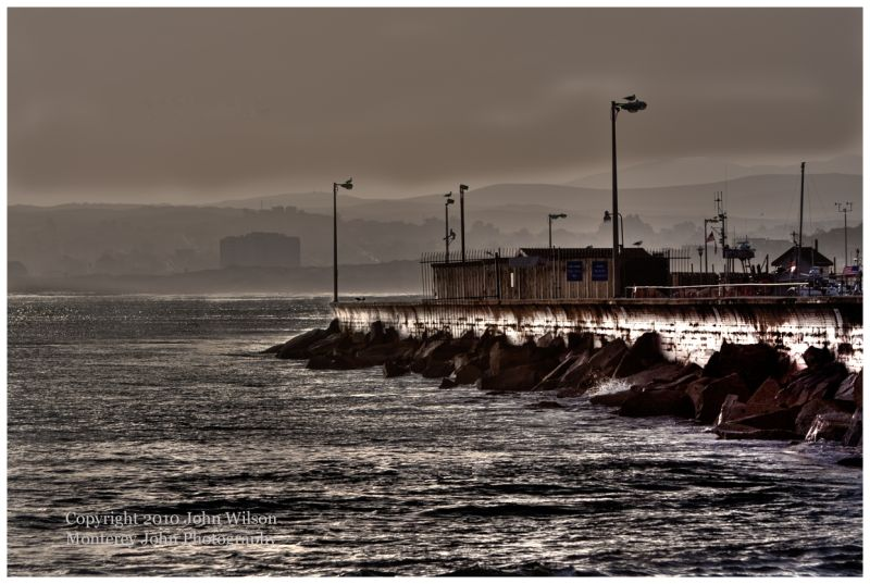 Monterey Harbor Breakwater