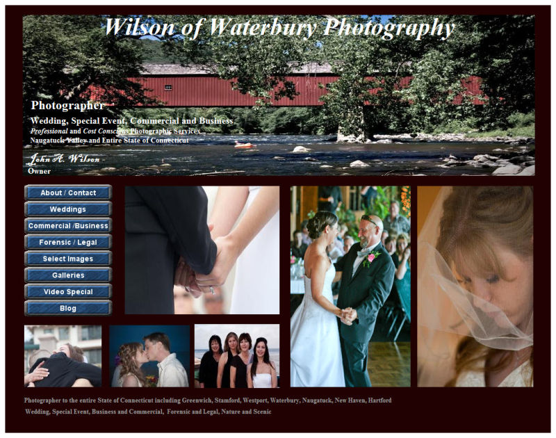 Wilson of Waterbury Photography Home Page