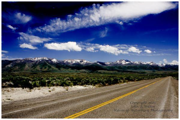Nevada Mountains south of I-80