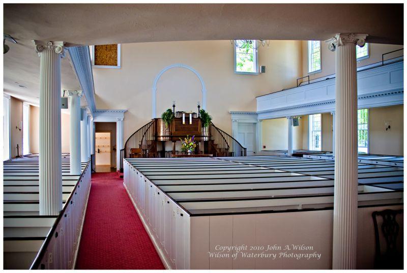 Sanctuary 1st Congregational Church, Litchfield, C