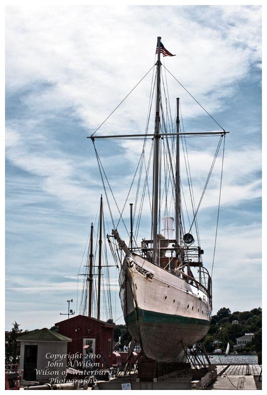 Mystic Seaport Steam Yacht