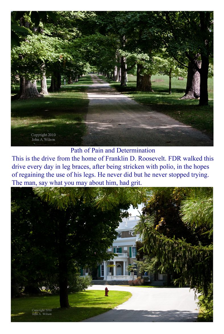 FDR home driveway