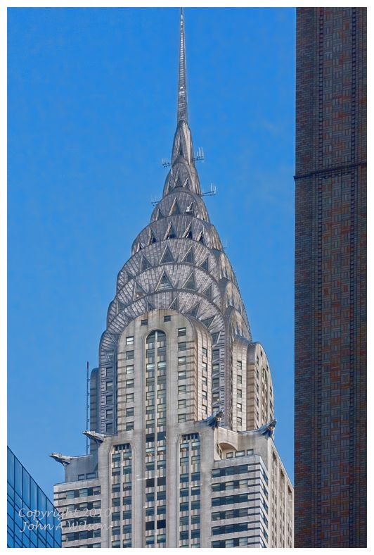 Chrysler Building seen from Grand Central Station