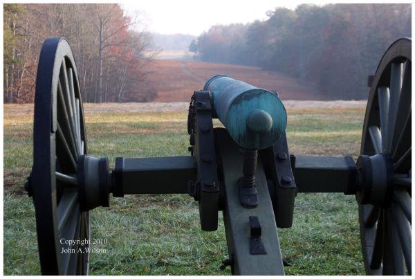 Chancellorsville Civil War Battlefield Hazel Grove