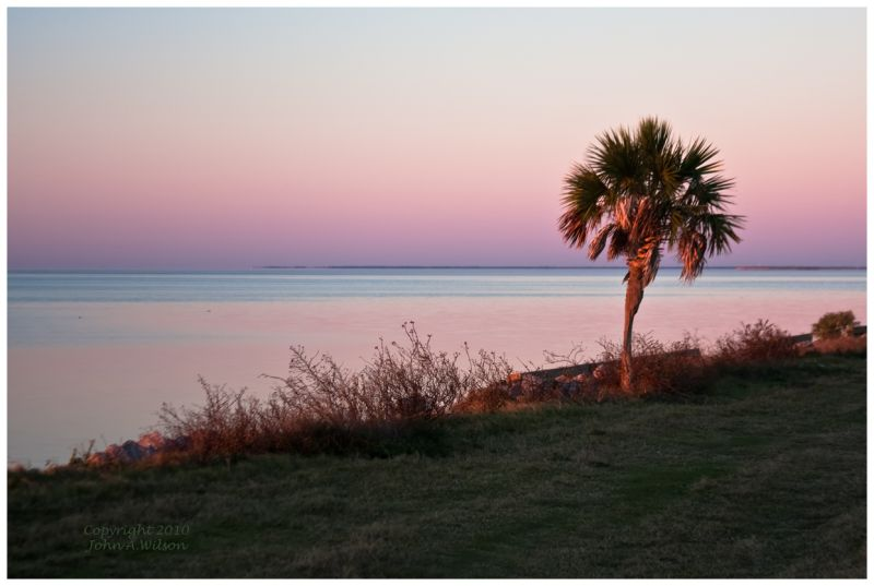Dawn on the Florida Panhandle - Apalachacola