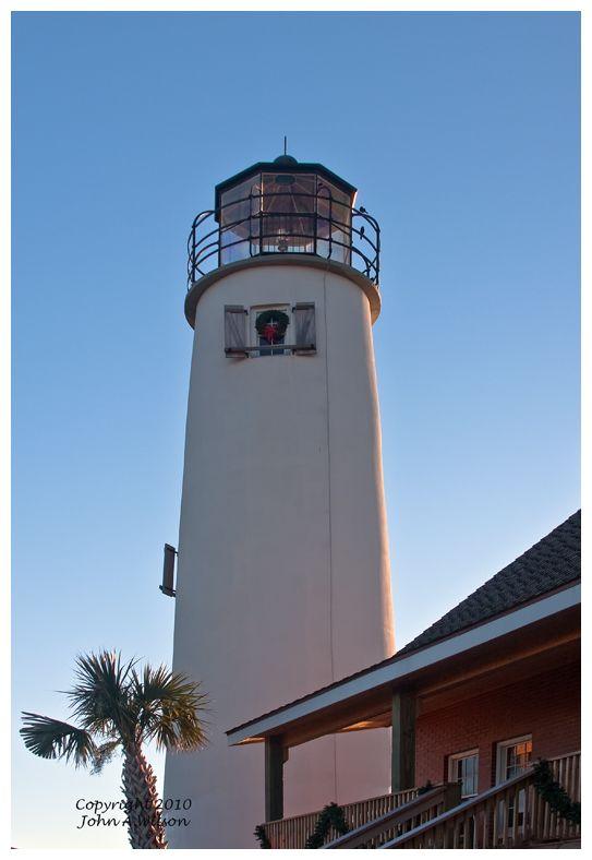 St George Lighthouse, St George Beach, Florida