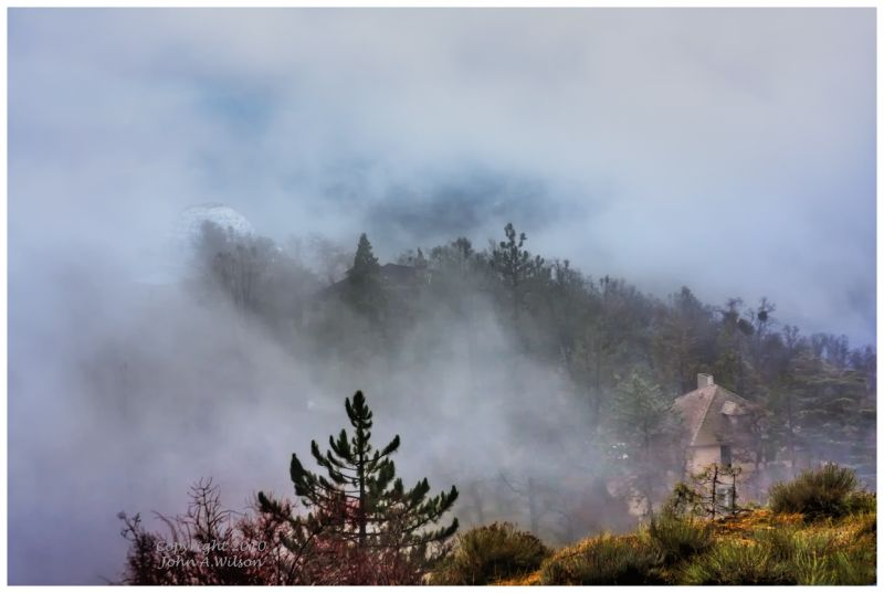 Storm Clouds on Mount Hamilton