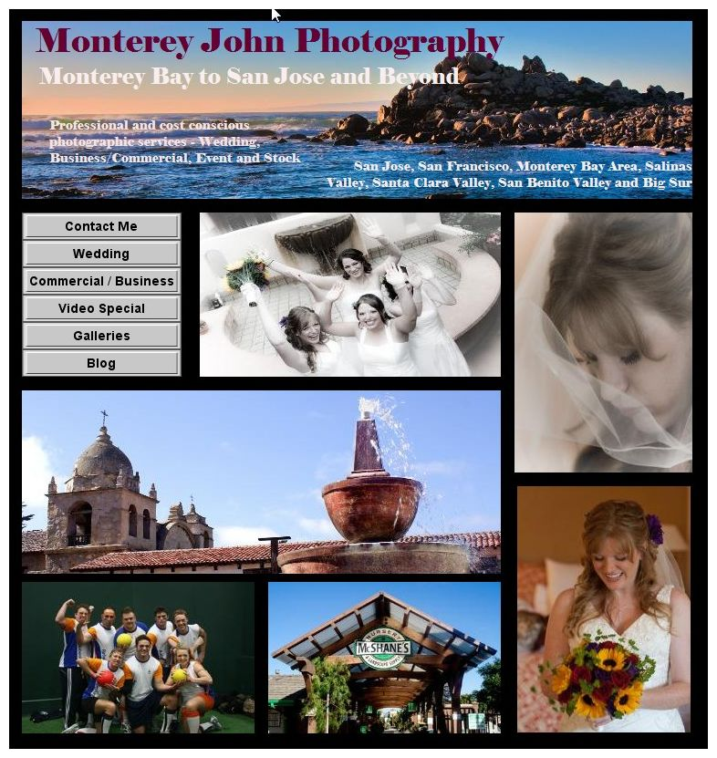 New Monterey John Photography Web Site