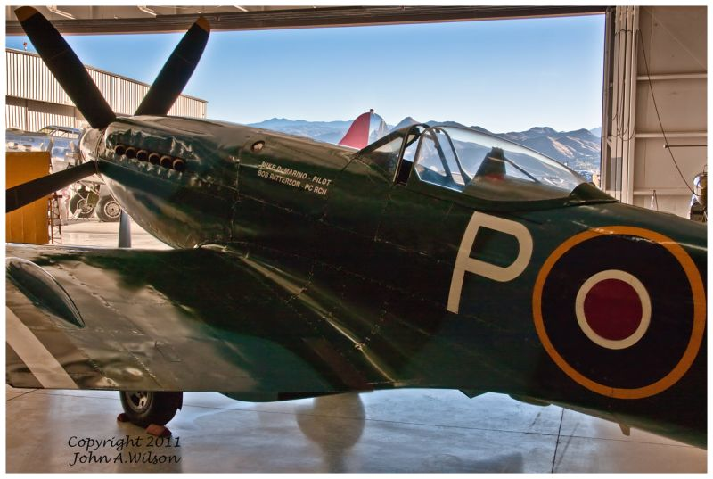 Spitfire Palm Springs Air Museum