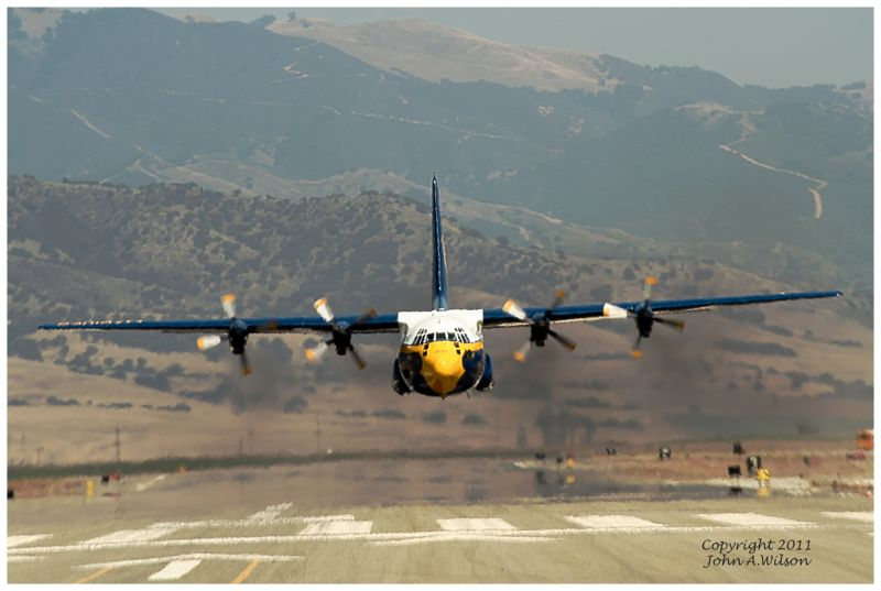 "Blue Angels ""Fat Albert"" Taking Off"