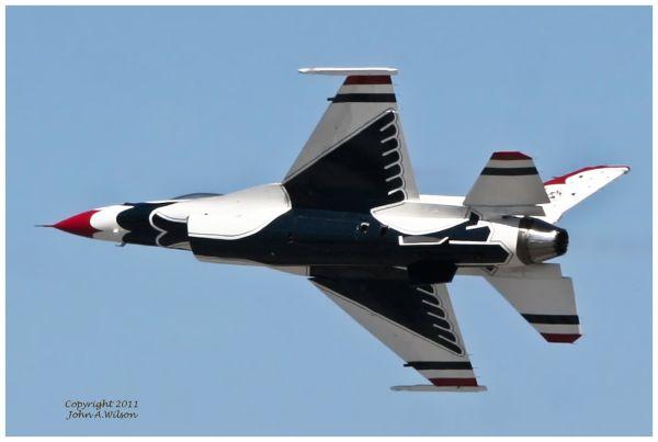 USAF Thunderbirds - Salinas (CA) Airshow