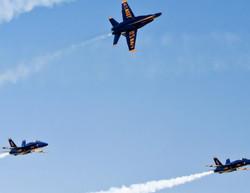 US Navy Blue Angels at Salinas, CA, Airshow