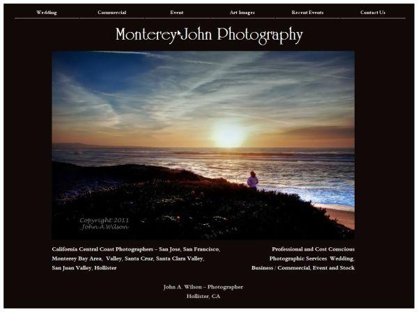 Monterey John Photography Web Site