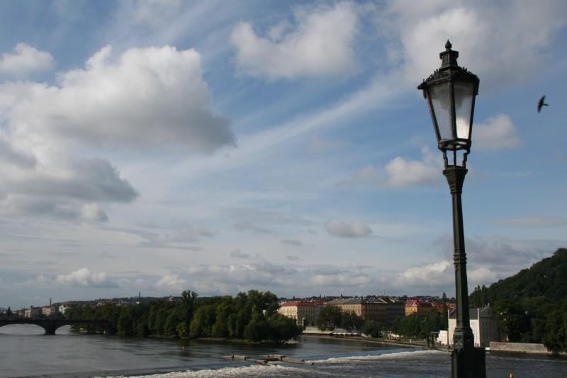 Rio Moldava, Praga - Moldava river, Praha