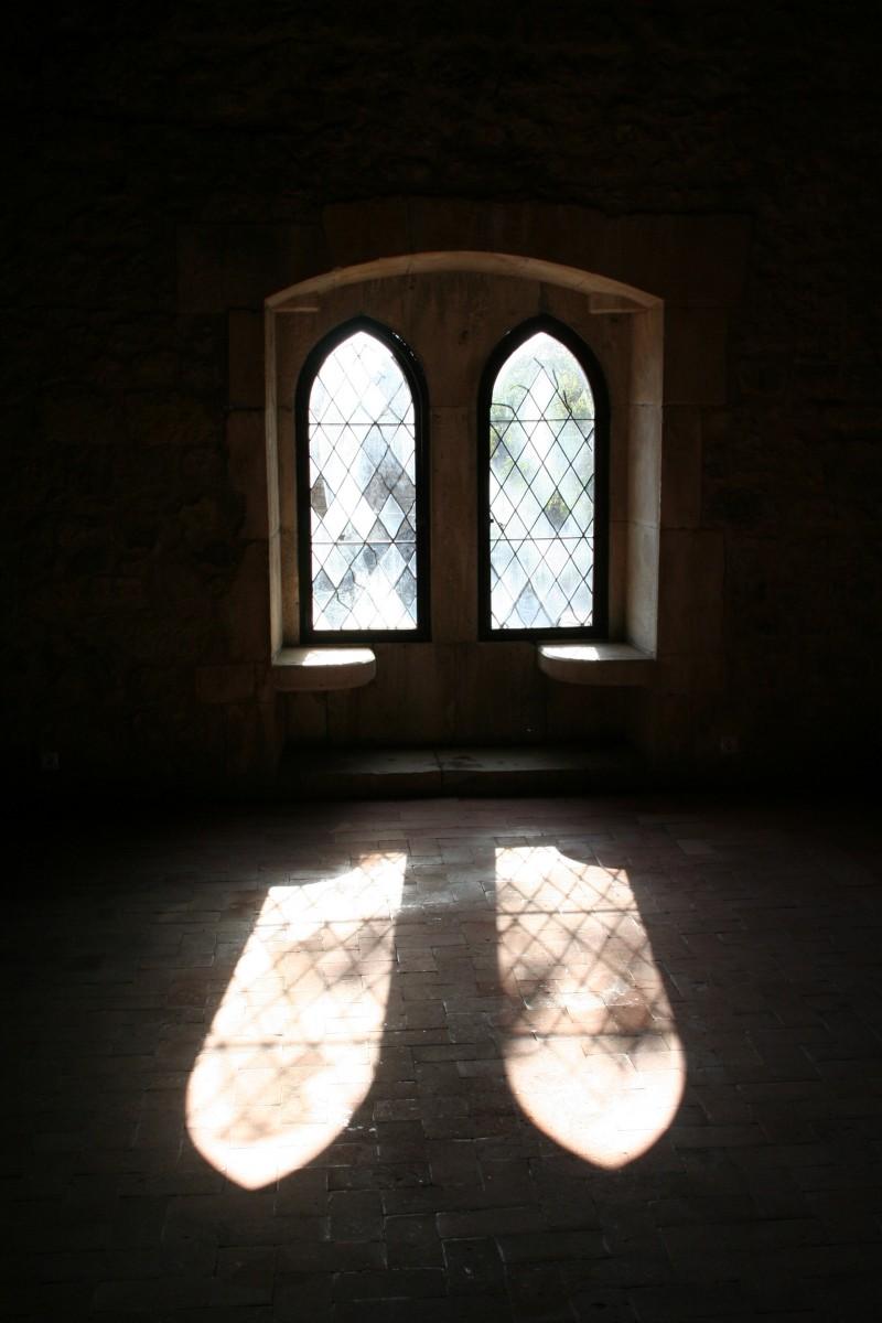 Janelas do Castelo de Leiria