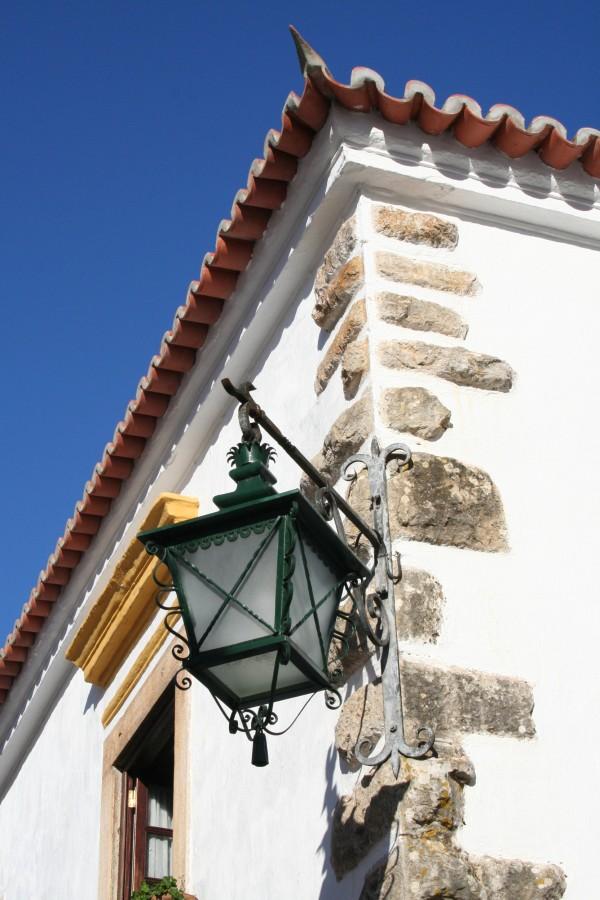 Candeeiro em Óbidos - Lamp in Óbidos
