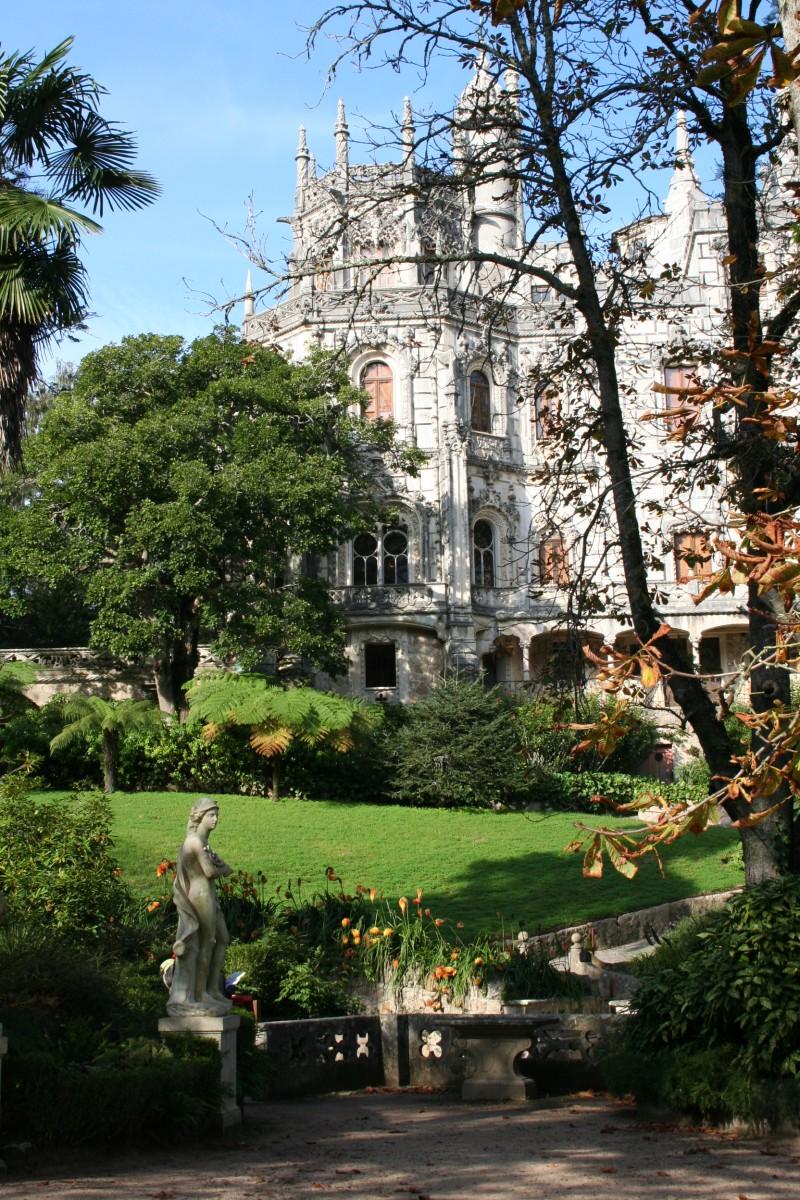 Patamar dos Deuses, Quinta da Regaleira, Sintra