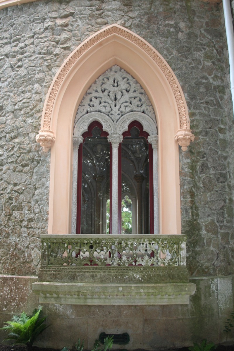 Palácio de Monserrate, Sintra janela