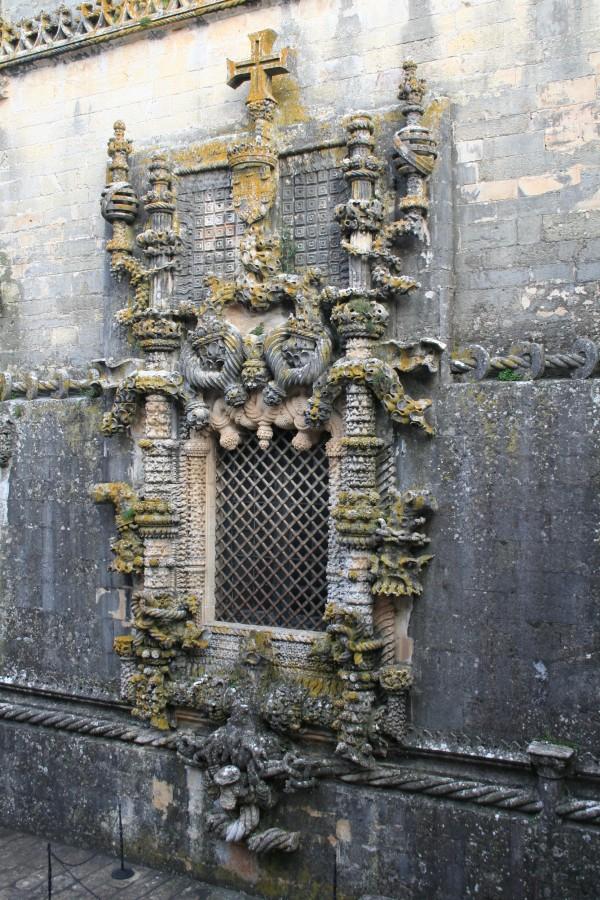 Janela Manuelina, convento-de-cristo, Tomar janela