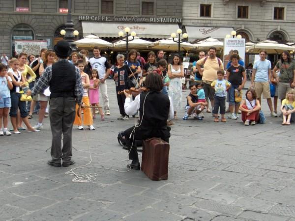Espectáculo na rua