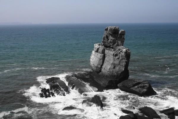 mar peniche rocha nau-dos-corvos