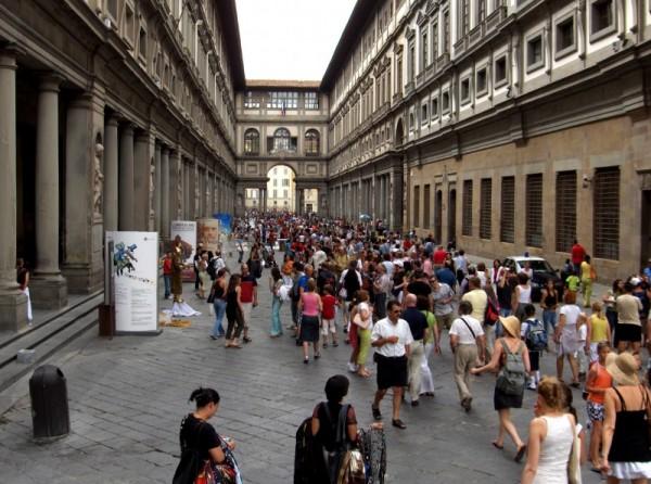 Galerias Uffizi, Florence, Italy