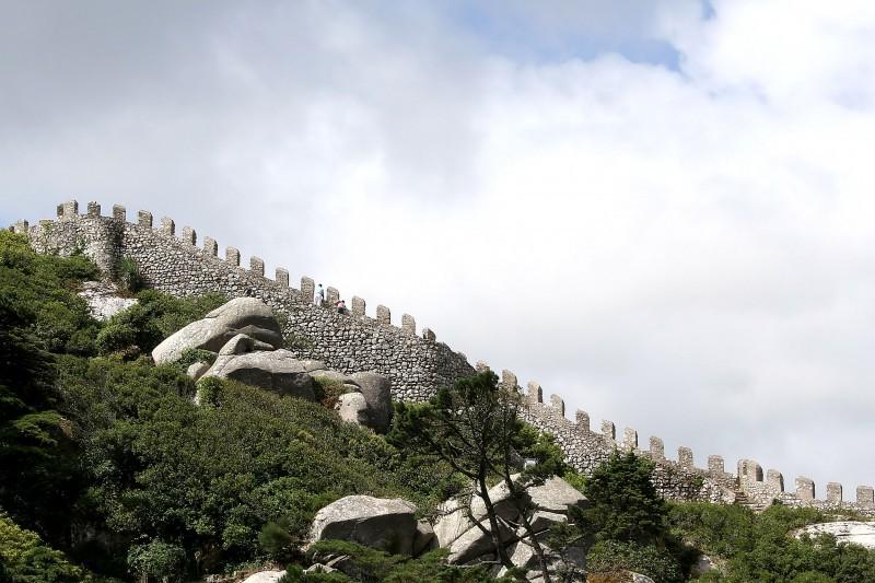 Muralha do Castelos dos Mouros