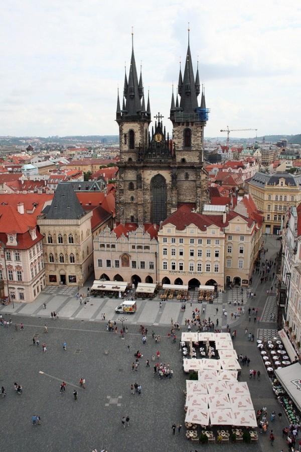 Nas ruas de Praga... passear!