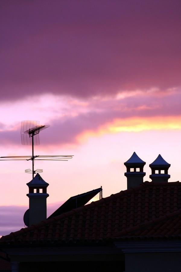 A saltar nos telhados
