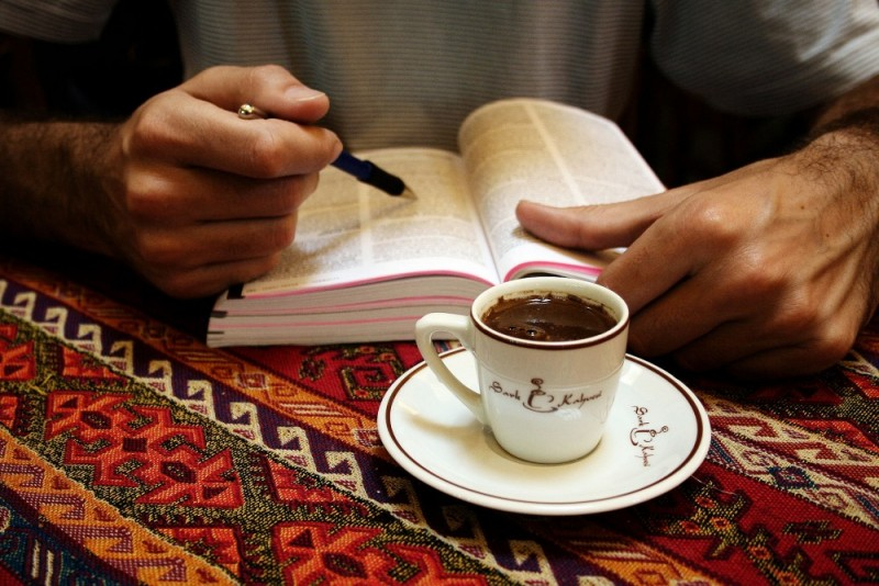 istambul turquia cafe