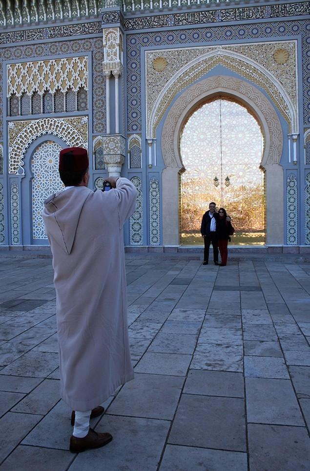 Fotografar no Palácio real