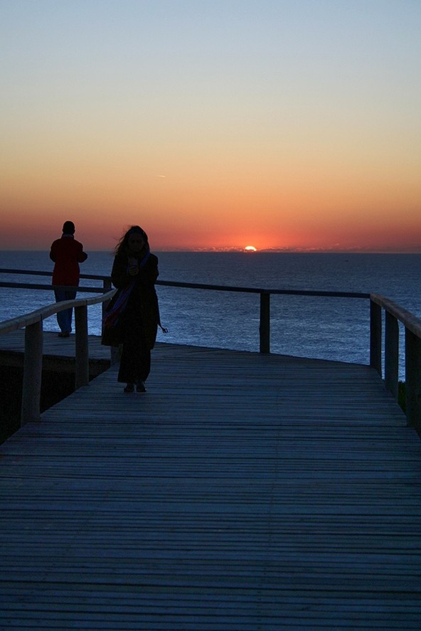 sunset praia mar s-pedro-de-moel