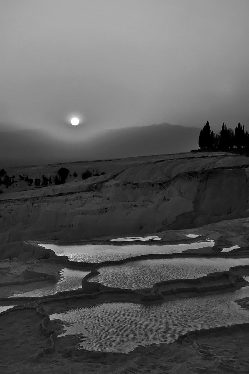 Sunset in Pamukkale II