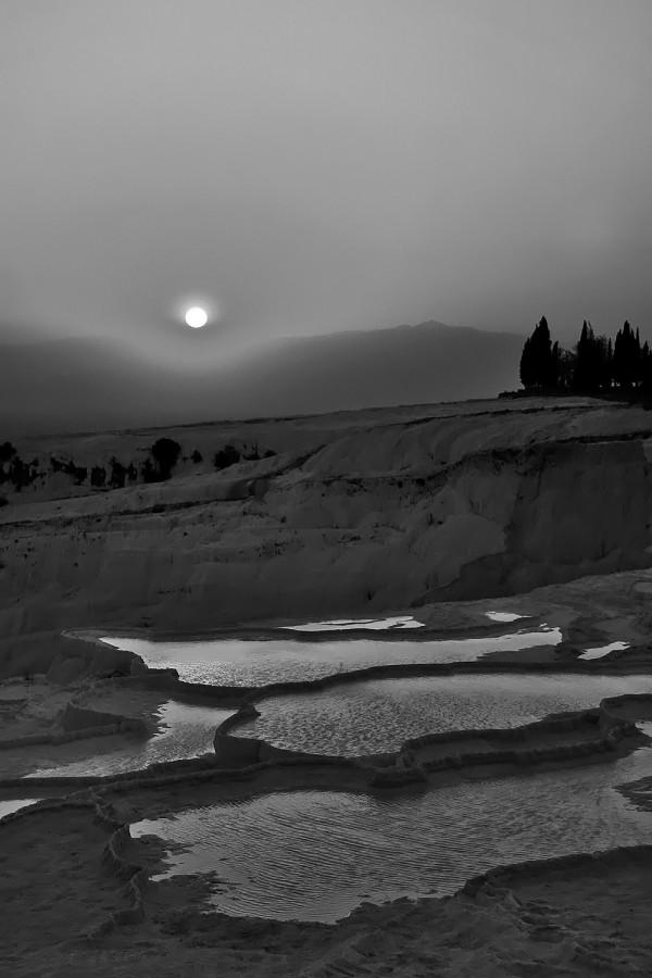 Sunset in Pamukkale II