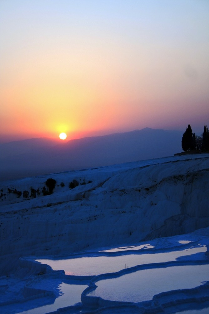 Sunset in Pamukkale V