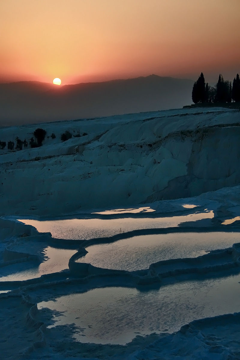 Sunset in Pamukkale VII