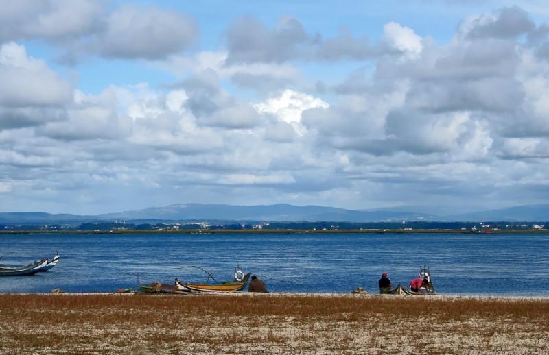 ria-de-aveiro pescador barcos