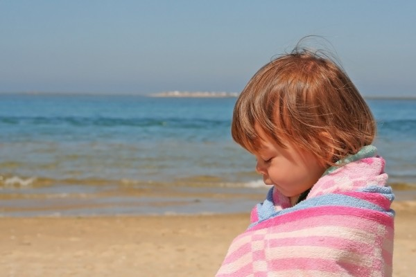 praia mar princesa criança algarve