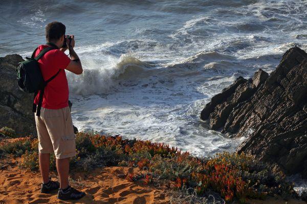 sunset praia mar fotógrafo