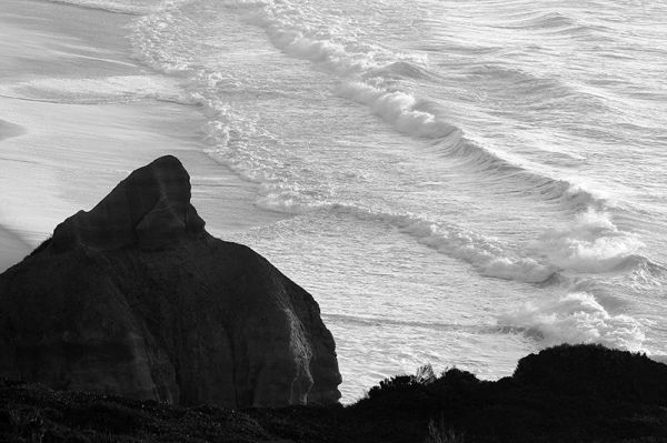 praia mar bw  vale-furado