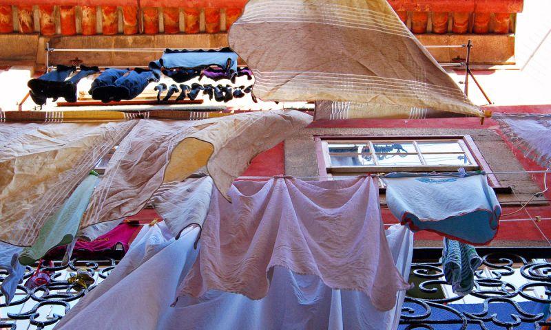 Roupa estendida - Laundry