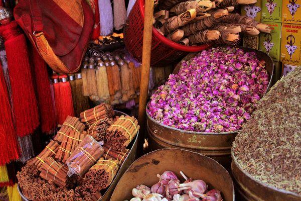 Medina of Marrakech V - Roses and cinnamon