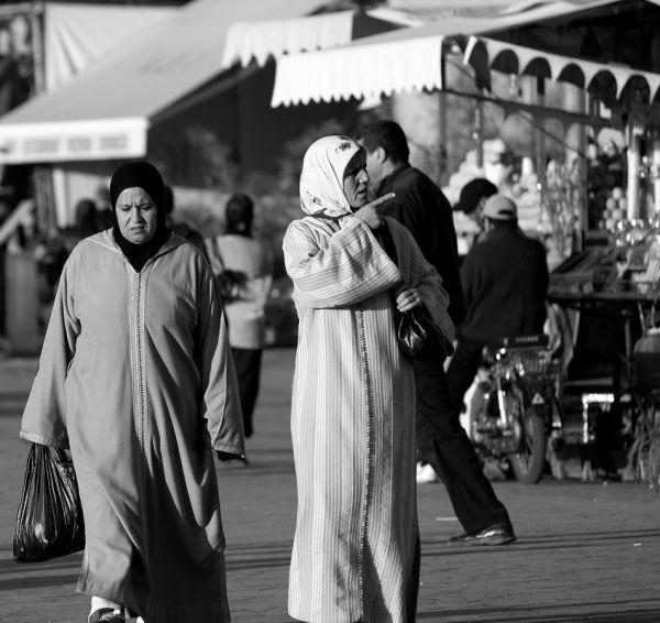 Na Medina de Marraquexe VIII- Women
