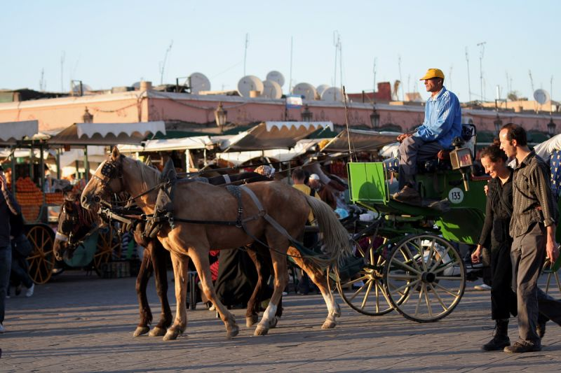 In the Medina of Marrakech - date
