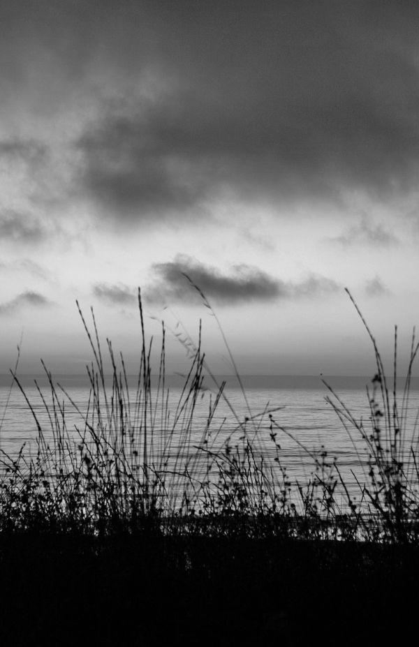 bw mar praia sunset paredesdavitoria