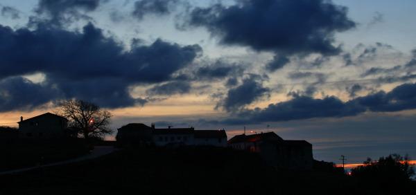 sunset aldeia