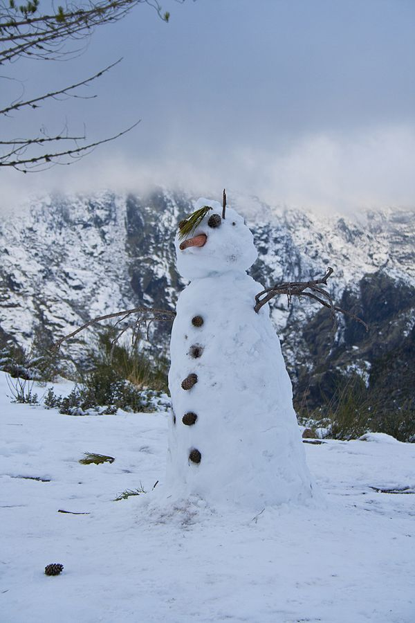 serraestrela neve inverno Snowman