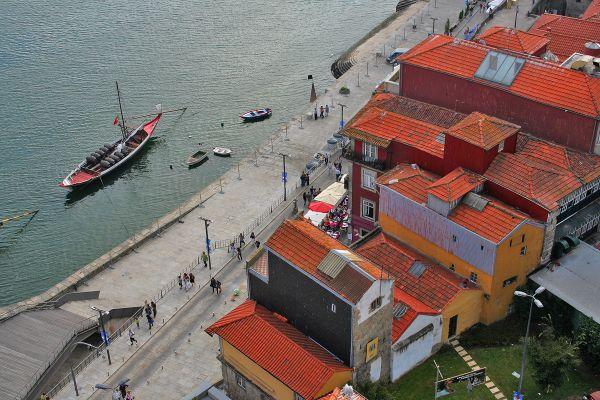 porto rio douro barcos