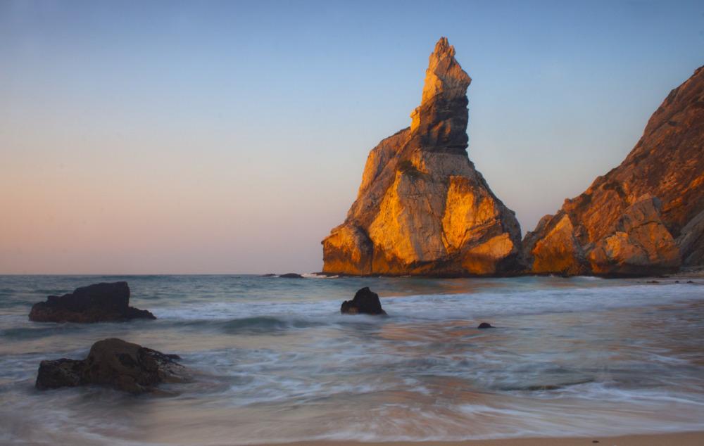 praia sunset praia-da-ursa