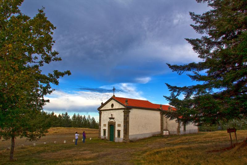 lousã outono capela SantoAntóniodaNeve